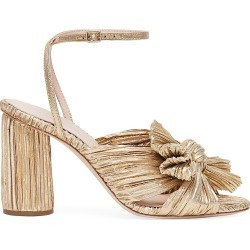 Loeffler Randall Women's Camellia Knotted Lamé Sandals - Gold - Size 7 found on MODAPINS from Saks Fifth Avenue for USD $395.00