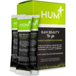 Raw Beauty To-Go Skin & Energy Green Superfood Powder
