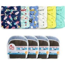 6-Piece Cloth Diaper Day Pack Set