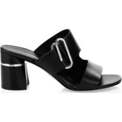 Alix Leather Mules found on MODAPINS from Saks Fifth Avenue Canada for USD $158.77