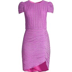Shoshanna Women's Leanna Pleated Ruched Dress - Wineberry - Size 4 found on Bargain Bro India from Saks Fifth Avenue for $159.20