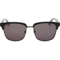 Gucci Men's 56MM Acetate Sunglasses - Black found on Bargain Bro India from Saks Fifth Avenue for $375.00