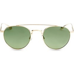 Barton Perreira Men's Aviator Sunglasses - Green found on MODAPINS from Saks Fifth Avenue for USD $490.00