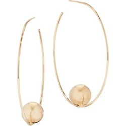 Hollow Balls 14K Yellow Gold Wire Hoop Earrings found on Bargain Bro India from Saks Fifth Avenue Canada for $541.20
