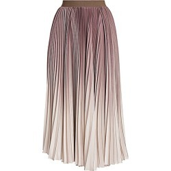 Agnona Women's Plissé Dégradé Midi Skirt - Mauve - Size 42 (6) found on MODAPINS from Saks Fifth Avenue for USD $1990.00