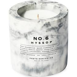 No.6 Hyssop Concrete Candle