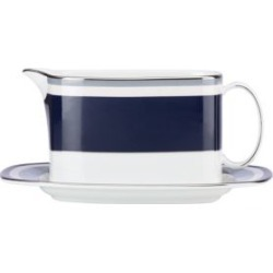 Mercer Drive Gravy Boat with Stand