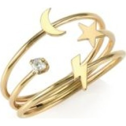 14K Yellow Gold Diamond Symbol Ring found on Bargain Bro India from Saks Fifth Avenue Canada for $518.38