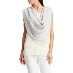 Cashmere-Blend Square Scarf