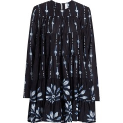 Merlette Women's Soliman Shibori Trapeze Dress - Navy Combo - Size XS found on MODAPINS from Saks Fifth Avenue for USD $360.00