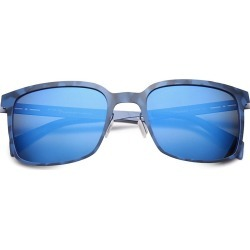 Italia Independent Men's I-Metal 52MM Square Sunglasses - Blue found on MODAPINS from Saks Fifth Avenue for USD $98.50