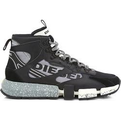 Diesel Men's Padola Mid Trek Sneakers - Black - Size 7 found on MODAPINS from Saks Fifth Avenue for USD $298.00