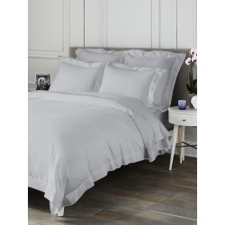Saks Fifth Avenue Butterfly Flange Flat Sheet - Grey - Size Full found on Bargain Bro from Saks Fifth Avenue for USD $74.10