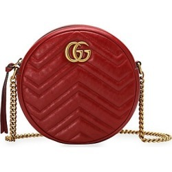Gucci Women's GG Marmont Mini Round Shoulder Bag - Red found on Bargain Bro India from Saks Fifth Avenue for $1390.00