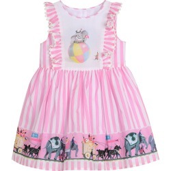 Disney x Pippa & Julie Baby's & Little Girl's Disney Dumbo Fit & Flare Dress - Pink - Size 24 Months found on Bargain Bro from Saks Fifth Avenue for USD $36.48