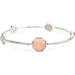 Rock Candy 925 Sterling Silver, Clear Quartz & Mother-Of-Pearl Bangle Bracelet found on Bargain Bro India from Saks Fifth Avenue OFF 5TH for $197.50