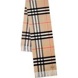 Burberry Women's The Classic Check Cashmere Scarf - Classic found on MODAPINS from Saks Fifth Avenue for USD $470.00