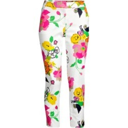 Moss Floral Crop Pants found on Bargain Bro UK from Saks Fifth Avenue UK