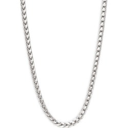Sterling Silver Franco Chain Necklace found on Bargain Bro India from Saks Fifth Avenue OFF 5TH for $237.50