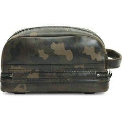 Frye Men's Holden Camo Leather Toiletry Bag - Dark Camo found on MODAPINS from Saks Fifth Avenue for USD $198.00