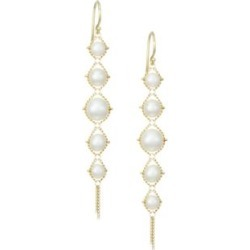 18K Yellow Gold Woven Pearl Tiered Drop Earrings found on Bargain Bro India from Saks Fifth Avenue AU for $943.91