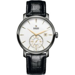 Rado DiaMaster Stainless Steel Chronometer Leather Watch found on MODAPINS from Lord & Taylor for USD $2250.00