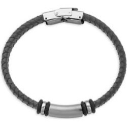 Braided Leather Bracelet found on Bargain Bro from The Bay for USD $18.62