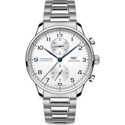 Portugieser Stainless Steel Chronograph Watch found on MODAPINS from Saks Fifth Avenue UK for USD $9516.66