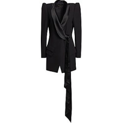Alexandre Vauthier Women's Puff Sleeve Blazer Dress - Black - Size 40 (8) found on MODAPINS from Saks Fifth Avenue for USD $3190.00