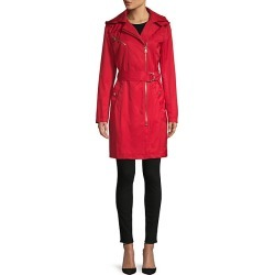 Belted Cotton-Blend Coat