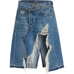 Norbury Shredded A-Line Denim Skirt found on Bargain Bro Philippines from Saks Fifth Avenue Canada for $282.72