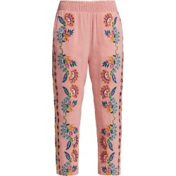 Richillieur Floral-Embroidered Pajama Pants found on Bargain Bro Philippines from Saks Fifth Avenue AU for $259.18