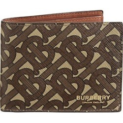 TB Monogram Bi-Fold Wallet found on MODAPINS from Saks Fifth Avenue UK for USD $355.56
