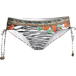 Camilla Women's Ruched Tie Bikini Bottom - Cosmic Co - Size Medium found on MODAPINS from Saks Fifth Avenue for USD $50.70
