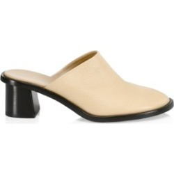 Teatime Leather Clogs found on Bargain Bro India from Saks Fifth Avenue AU for $1061.58