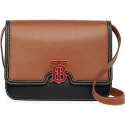 Burberry Women's Medium TB Leather Crossbody Bag - Malt Brown found on MODAPINS from Saks Fifth Avenue for USD $2650.00