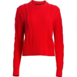 Aran Cable Knit Drop Shoulder Sweater found on Bargain Bro Philippines from Saks Fifth Avenue AU for $845.39