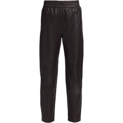Co Women's Straight Leather Pants - Brown - Size XS found on MODAPINS from Saks Fifth Avenue for USD $1595.00
