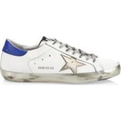Men's Gold Sparkle Superstar Sneakers found on Bargain Bro from Saks Fifth Avenue UK for £434