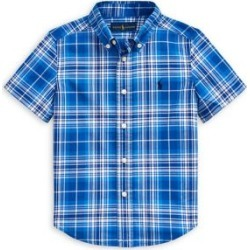 Little Boy's Plaid Button-Front Shirt found on Bargain Bro India from The Bay for $45.00