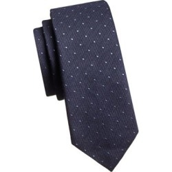 Embroidered Dot Tie