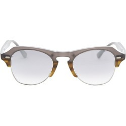 Kyme Men's 48MM Clubmaster Sunglasses - Grey Silver found on MODAPINS from Saks Fifth Avenue for USD $320.00