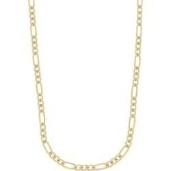 14K Yellow & White Gold Two-Tone Figaro Link Chain/5.8MM found on Bargain Bro India from Saks Fifth Avenue OFF 5TH for $3335.00