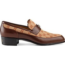 Gucci Men's Original GG Loafer with Gucci Team Motif - Light Brown - Size 6 UK (7 US) found on MODAPINS from Saks Fifth Avenue for USD $950.00