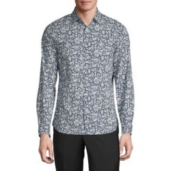 Slim-Fit Floral-Print Shirt found on GamingScroll.com from The Bay for $26.96