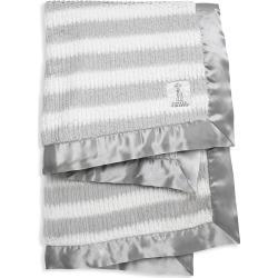 Little Giraffe Baby's Luxe Striped Ribbed Blanket