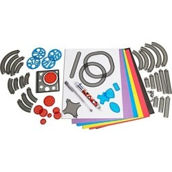 FAO Schwarz 53-Piece Toy Spiral Art Set