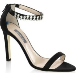 Zaida Detailed Satin Stilettos found on MODAPINS from Saks Fifth Avenue for USD $158.00