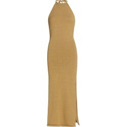 Cult Gaia Women's Karina Knit Midi Dress - Wicker - Size Small found on MODAPINS from Saks Fifth Avenue for USD $398.00