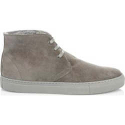 COLLECTION Suede & Shearling Chukka Sneakers found on Bargain Bro from Saks Fifth Avenue UK for £117